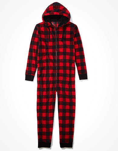 AEO Plaid Onesie