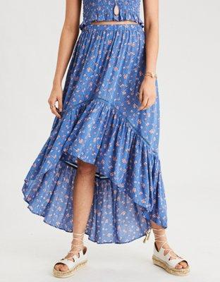 AE Hi Low Maxi Skirt