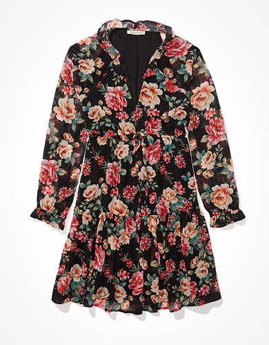 AE Chiffon Babydoll Dress