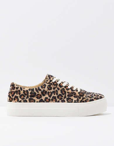 AE Leopard Platform Sneaker