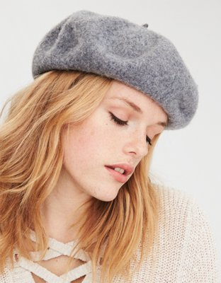 AEO Wool French Beret