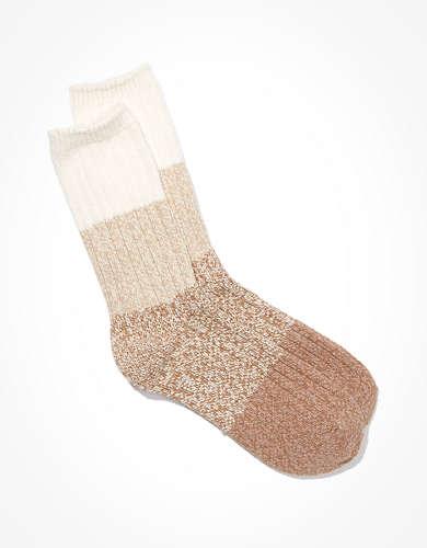 AE Color Block Crew Sock