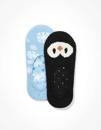 AE Penguin No-Show Socks 2-Pack