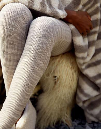 Aerie Waffle Pajama Legging