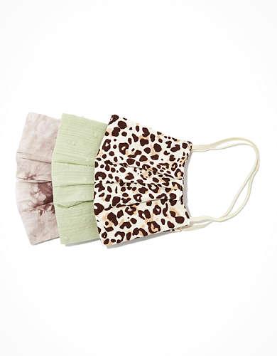 AEO Animal + Tie Dye Masks 3-Pack