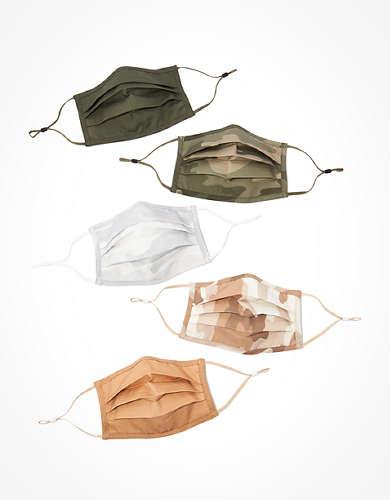 AEO Camo Masks 5-Pack