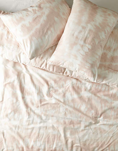 Dormify Shibori Wave Full/Queen 3-Piece Comforter and Sham Set