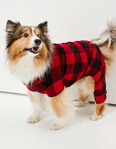 ABO Plaid Doggy PJ