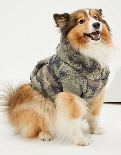ABO Sherpa Camo Doggy Hoodie