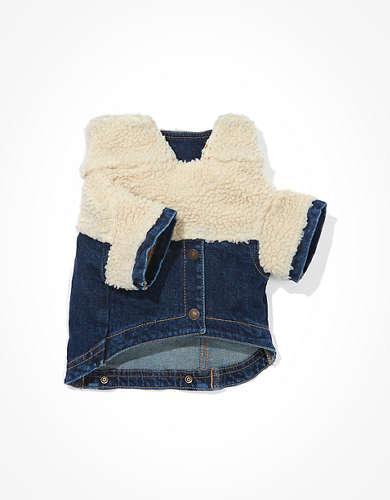 ABO Denim Sherpa Doggy Jacket