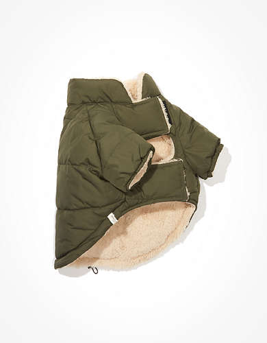 ABO Reversible Doggy Puffer Jacket