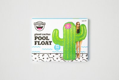 Bigmouth Cactus Pool Float