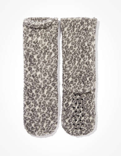 AEO Sherpa Slipper Socks
