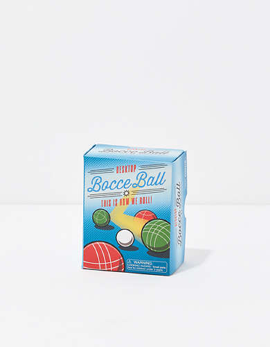 Running Press Desktop Bocce Ball Mini Game