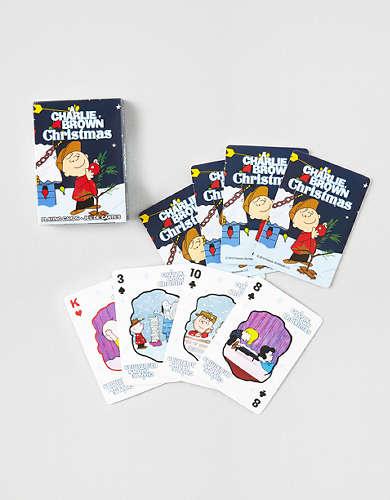 Aquarius Charlie Brown Christmas Playing Cards