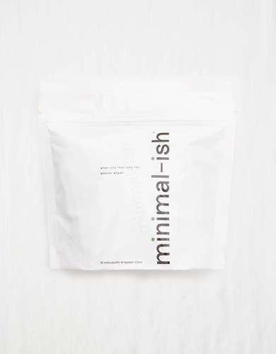 Minimal-ish Allover Wipes