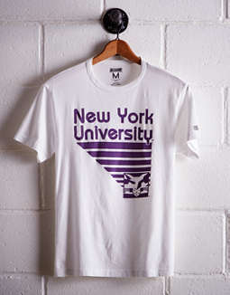 Tailgate Men's NYU Retro T-Shirt