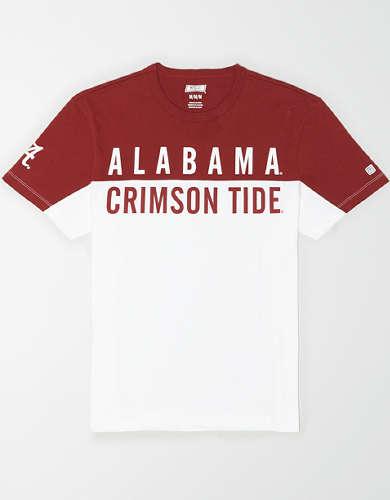 Tailgate Men's Alabama Crimson Tide Colorblock T-Shirt