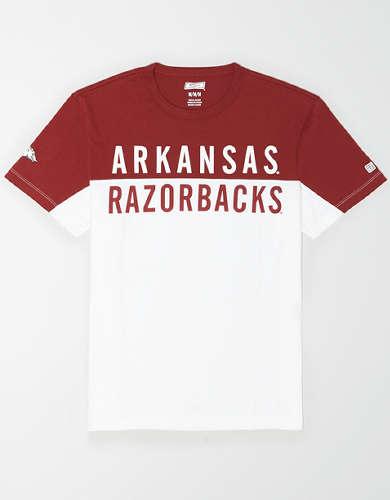 Tailgate Men's Arkansas Razorbacks Colorblock T-Shirt