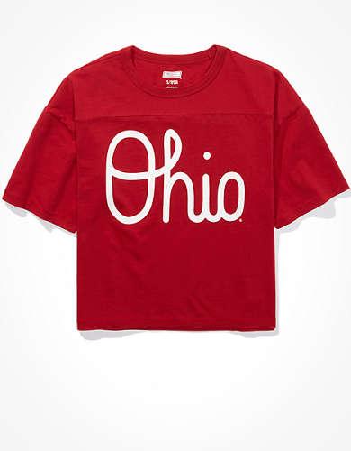 Tailgate Women's Ohio State Buckeyes Cropped T-Shirt