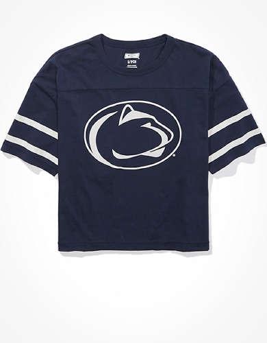 Tailgate Women's Penn State Cropped T-Shirt