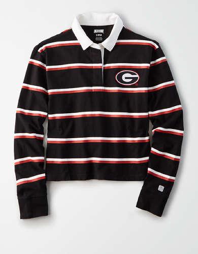 Tailgate Women's Georgia Bulldogs Rugby Shirt
