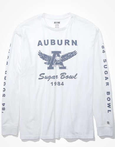 Tailgate Women's Auburn Oversized Long-Sleeve T-Shirt