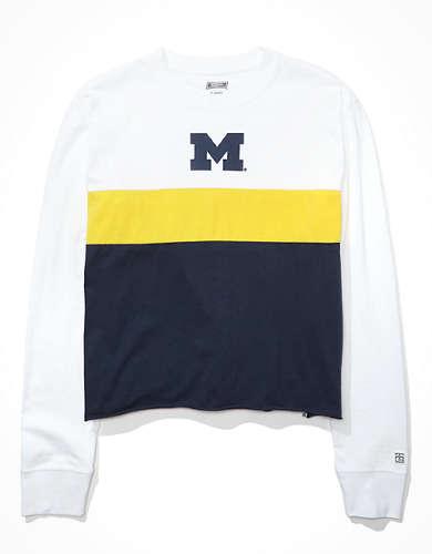 Tailgate Women's Michigan Wolverines Long-Sleeve T-Shirt