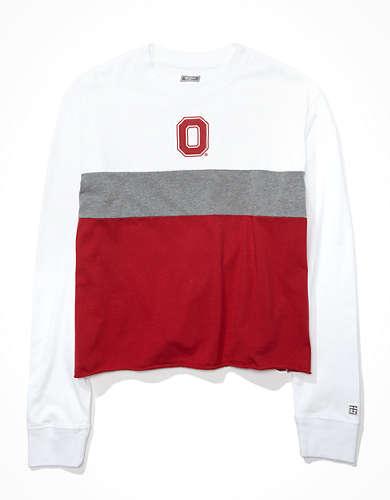 Tailgate Women's OSU Buckeyes Long-Sleeve T-Shirt