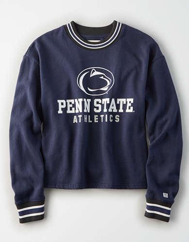Tailgate Women's Penn State Tipped Fleece Sweatshirt