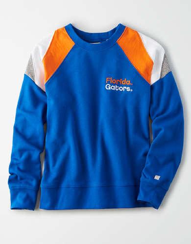Tailgate Women's Florida Gators Colorblock Sweatshirt