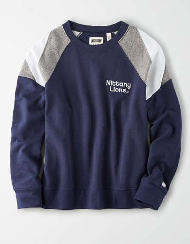 Tailgate Women's PSU Nittany Lions Colorblock Sweatshirt