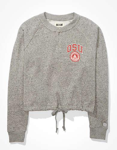 Tailgate Women's OSU Buckeyes Cropped Sweatshirt
