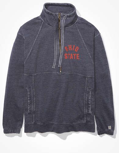 Tailgate Women's OSU Buckeyes Quarter-Zip Sweatshirt