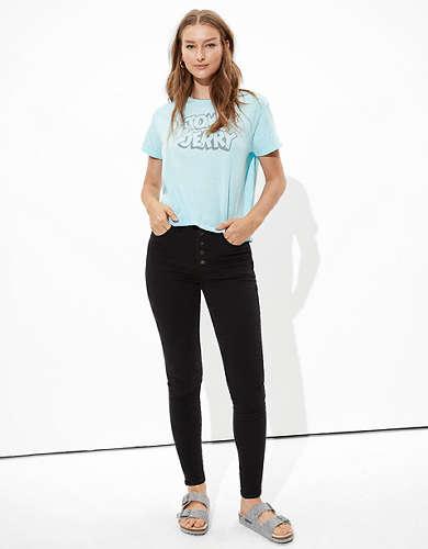 Tailgate Women's Tom & Jerry Graphic T-Shirt