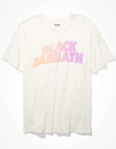 Tailgate Women's Black Sabbath Oversized Graphic T-Shirt