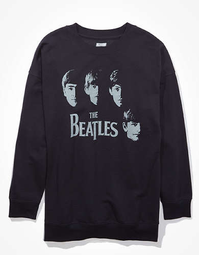 Tailgate Women's Beatles Graphic Sweatshirt