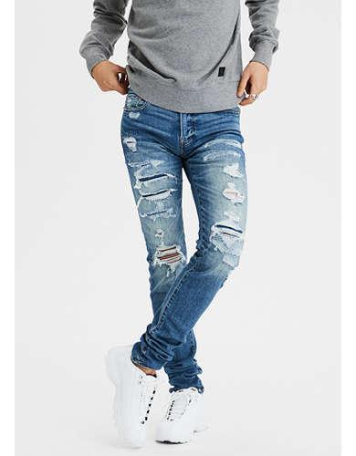 AE Ne(X)t Level AirFlex Stacked Skinny Jean