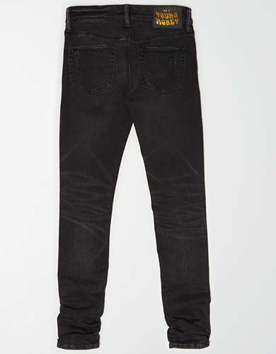 AE X Young Money Ne(X)t Level Stacked Skinny Jean