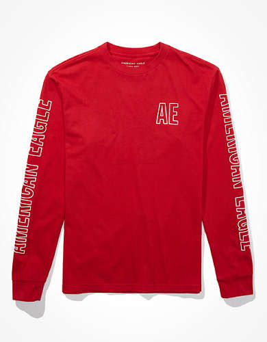 AE Super Soft Long Sleeve Graphic T-Shirt