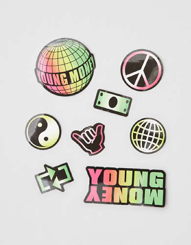 AE X Young Money Sticker Pack