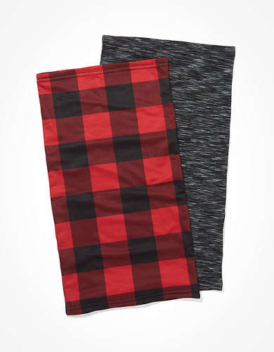 AE Double Layer Neck Gaiter 2-Pack