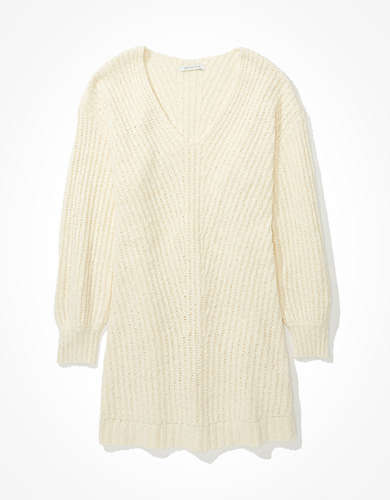 AE V-Neck Sweater Dress