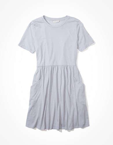 AE Crew Neck Babydoll Dress