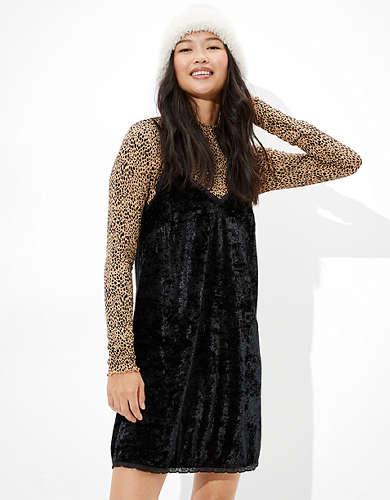 AE Lace Slip Mini Dress