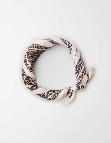 AE Silky Leopard Bandana