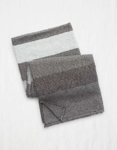 Aerie Boucle Striped Scarf