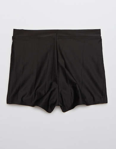 Aerie High Rise Boyshort Bikini Bottom
