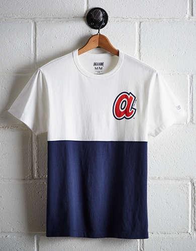 Tailgate Men's Atlanta Color Block T-Shirt
