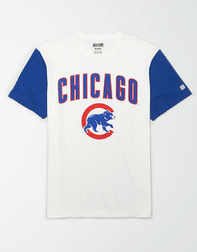 Tailgate Men's Chicago Cubs Colorblock T-Shirt